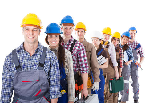 skilled trade workers and contractors